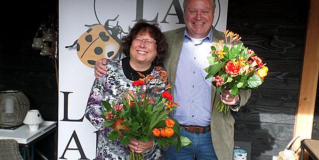 Maya Bolte en John Hagens